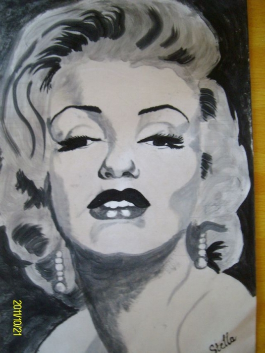 Marilyn Monroe by Stella00